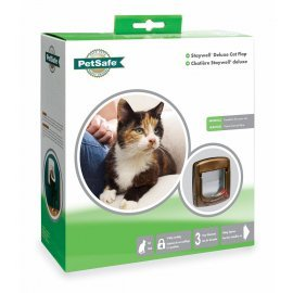 Staywell 4 Way Locking Cat Flap 300 - White -  by PetSafe