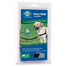 Easy Walk Large Dog Harness - Large - Black
