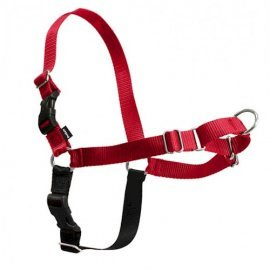 Easy Walk Dog Harness - Medium - Red