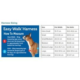 Easy Walk Dog Harness - Small - Red