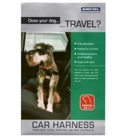 Car Harness For Dogs - Medium
