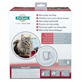 Staywell Microchip Cat Flap - White - by Petsafe