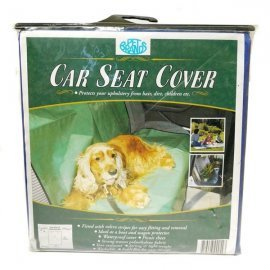 Dog Car Seat Cover - Blue