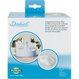 Drinkwell® 360 Plastic Pet Fountain Replacement Foam Filters (2-Pack)