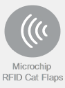 Microchip and RFID Activated Cat Flaps