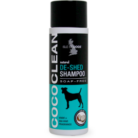 CoCo Clean Sensitive Dog Shampoo (Soap Free) De-Shed Violet and Mist - Isle Of Dogs