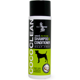CoCo Clean Dog Shampoo and Conditioner (Soap Free) Sugar cane and grape juice fragrance - Isle Of Dogs