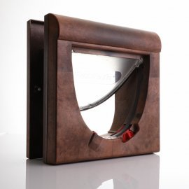 Petsafe Staywell 934 - 4-Way Locking Magnetic Cat Flap Brown