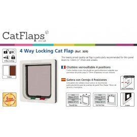 Catmate 309 4 Way Locking Cat Flap