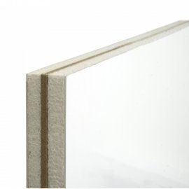 28mm No Ply Replacement uPVC Door Panel - 750mm x 750mm