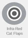 Infra-Red Cat Flaps